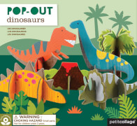Pop Out Dinosaurier