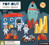 Petitcollage - Pop Out Weltall