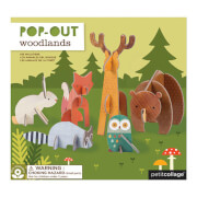 Petitcollage - Pop Out Waldtiere