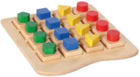Zuordnungsspiel Geometrische Formen