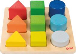 Standard Formen- und Farbensortierbrett