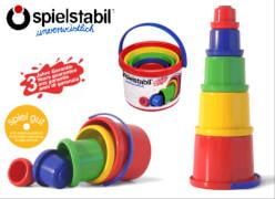 Spielstabil Stapelbecher-Set 5-teilig
