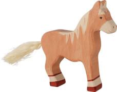 GoKi Pferd, stehend, hellbraun