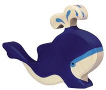 GoKi Blauwal mit Wasserfontäne