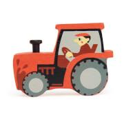 Tenderleaftoys - Holztier Traktor
