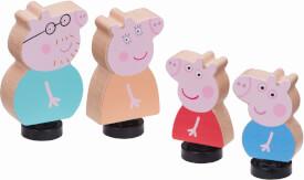 Peppa Pig Familie 4 Figuren Thekendisp.