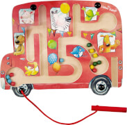 Magnet-Labyrinth Lustige Busfahrt  Die Lieben Sieben