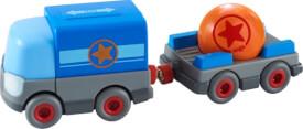 Haba Kullerbü  Batterie-LKW mit Anhänger