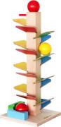 SpielMaus Holz Murmelklangbaum Höhe 40 cm
