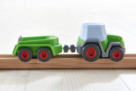 HABA Kullerbü # Traktor mit Anhänger