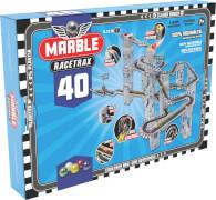 Marble Racetrax Murmel Rennbahn: Circuit Set - 40 Bögen - 6 Meter Rennstrecke