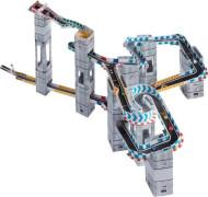 Marble Racetrax Murmel Rennbahn: Starter Set - 24 Bögen - 4 Meter Rennstrecke