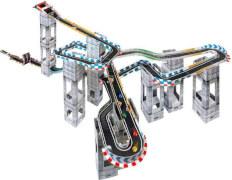 Marble Racetrax Murmel Rennbahn: Circuit Set - 32 Bögen - 5 Meter Rennstrecke