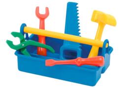 Werkzeugkiste 6-teilig, Kinderspielzeug