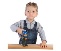 Smoby Bob der Baumeister 3in1-Multifunktionswerkzeug, Kunststoff, ab 3 Jahre