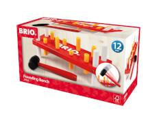 BRIO 63052500 Rote Klopfbank D