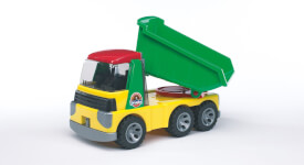 Bruder 20000 ROADMAX Kipplastwagen, ab 3 Jahren, Maße: 36,5 x 17,5 x 19,5 cm, Plastik & Kunststoff