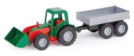 LENA Mini-Komp.Traktor mit Anhänger