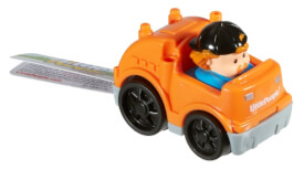 Mattel Wheelies Fahrzeug Recycle
