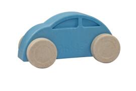 Anbac-Auto blau/weiß