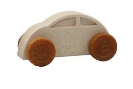 Anbac-Auto-Chassis weiß/Räder braun