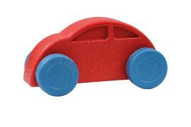 Anbac-Auto rot/ blau