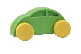 Anbac-Auto-Chassis grün/Räder gelb