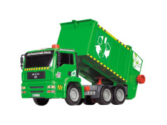 Dickie Air Pump Garbage Truck