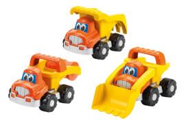 Ecoiffier Baustellenfahrzeuge, 3-sortiert,