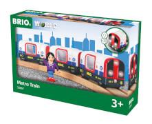 BRIO 63386700 U-Bahn m. Licht u. Sound