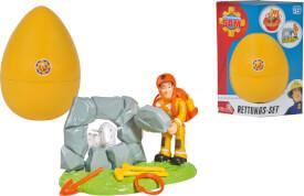 Simba Feuerwehrmann Sam - Rettungs-Set ''Sam im Ei''