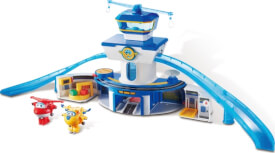 Super Wings World Airport Playset Control Tower inkl. JETT & Donnie