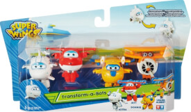 Super Wings 4er Transform Super Set, ab 3 Jahren, Maße: 4-6 cm