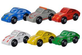 Eichhorn Porsche Racing Auto, 6-sortiert.