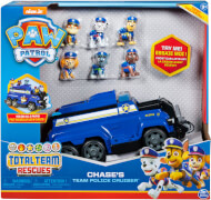 Spin Master Paw Patrol Chases Total Team Rescue Vehicle