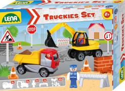 Truckies Set Baustelle