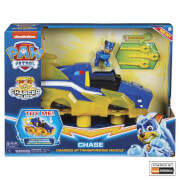 Spin Master Paw Patrol Mighty Charged Up Tran Vehicle Chase