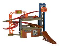 Majorette - Stunt Heroes Jump und Bump Factory, Kunststoff, ca. 54x35x33 cm, ab 3 Jahre