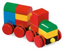 BRIO 63012400 Magnetischer Holz-Zug