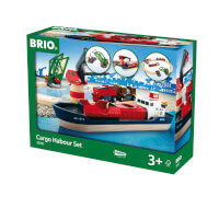 BRIO 63306100 Container Hafen Set