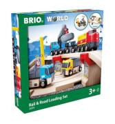 BRIO 63321000 Straßen & Schienen Steinverlade Set