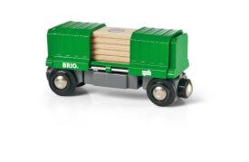 BRIO 33561002 Güterwaggon mit Ladung