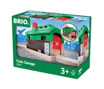 BRIO 63357400 Lokschuppen mit Rolltor
