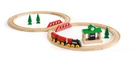 BRIO 63302800 Bahn Acht Set - Classic Line
