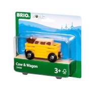 BRIO 63340600 Tierwagen mit Kuh