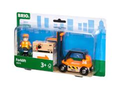 BRIO 63357300 Gabelstapler