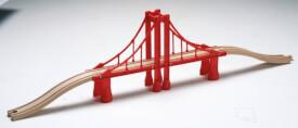 SpielMaus Holz lange Brücke
