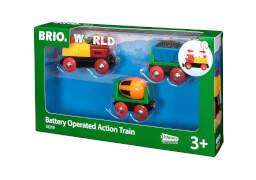 BRIO 63331900 Zug mit Batterielok