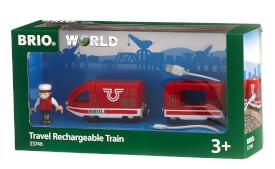 BRIO 63374600 Roter Akku-Reisezug