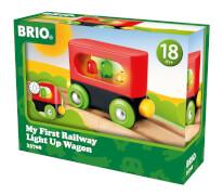 BRIO 63370800 Mein erster Waggon mit Licht